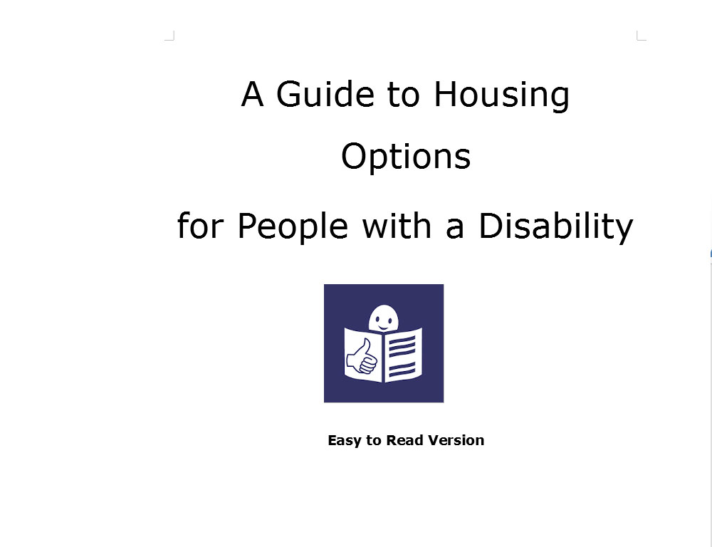 A Guide to Housing Options for People with a Disability