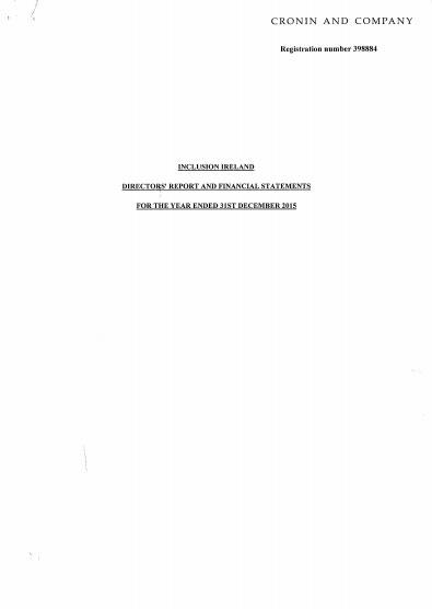 Audited Accounts 2015