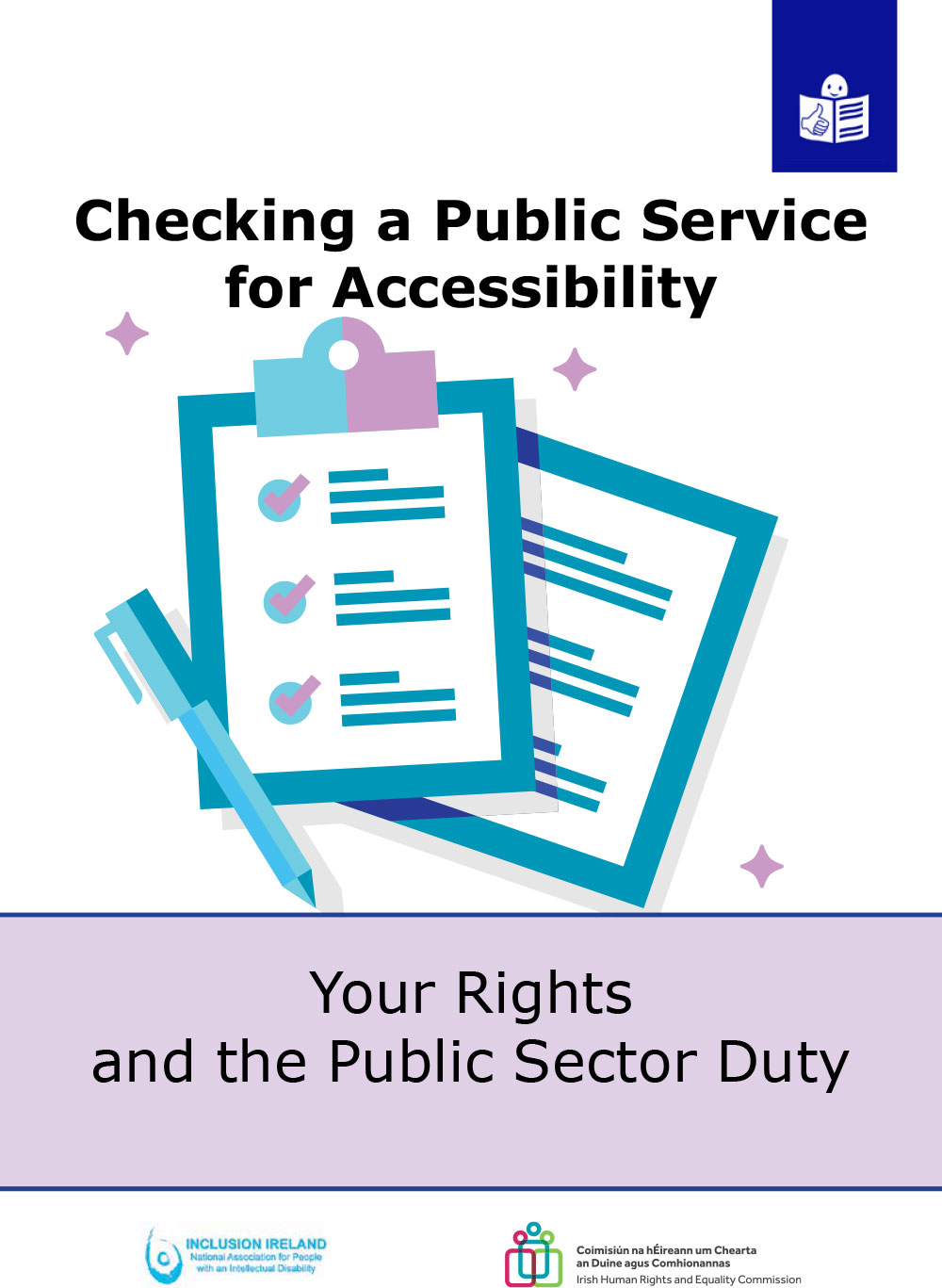 Your Rights and the Public Sector Duty – Checking a Public Service for Accessibility Questionnaire