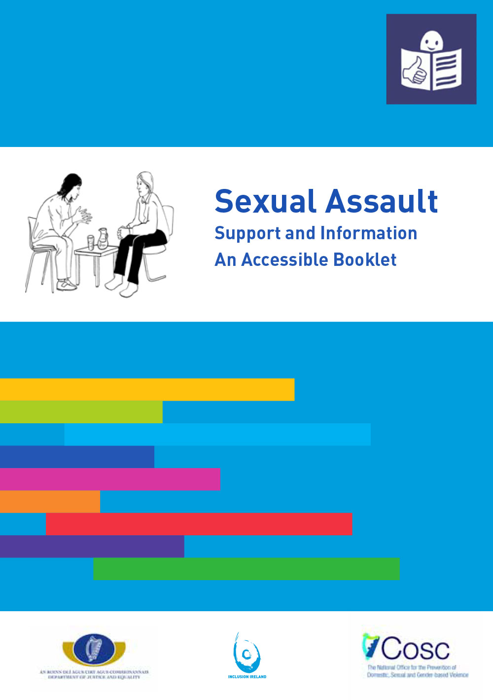 Sexual Assault – Support and Information Accessible Booklet