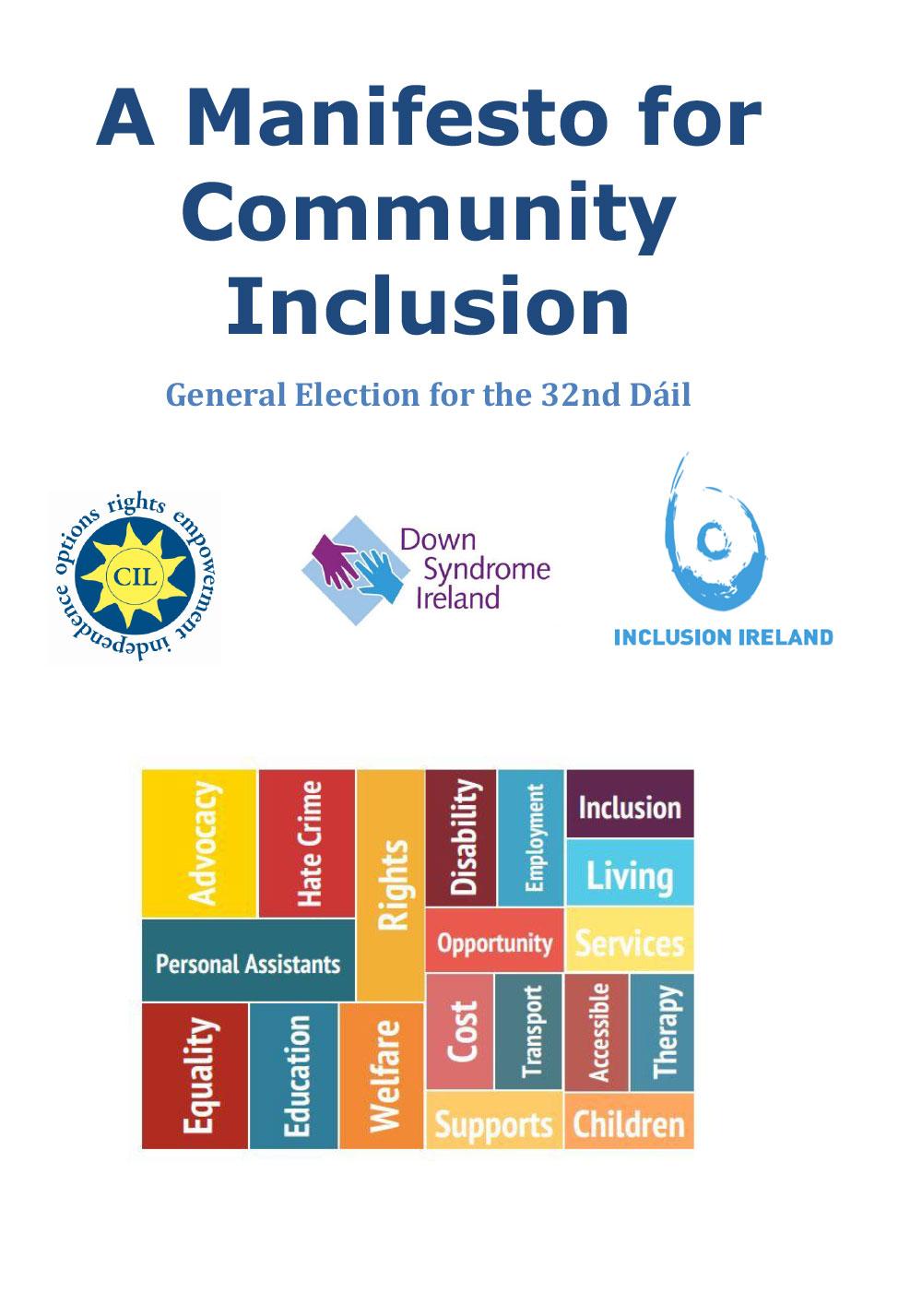 A Manifesto for Community Inclusion
