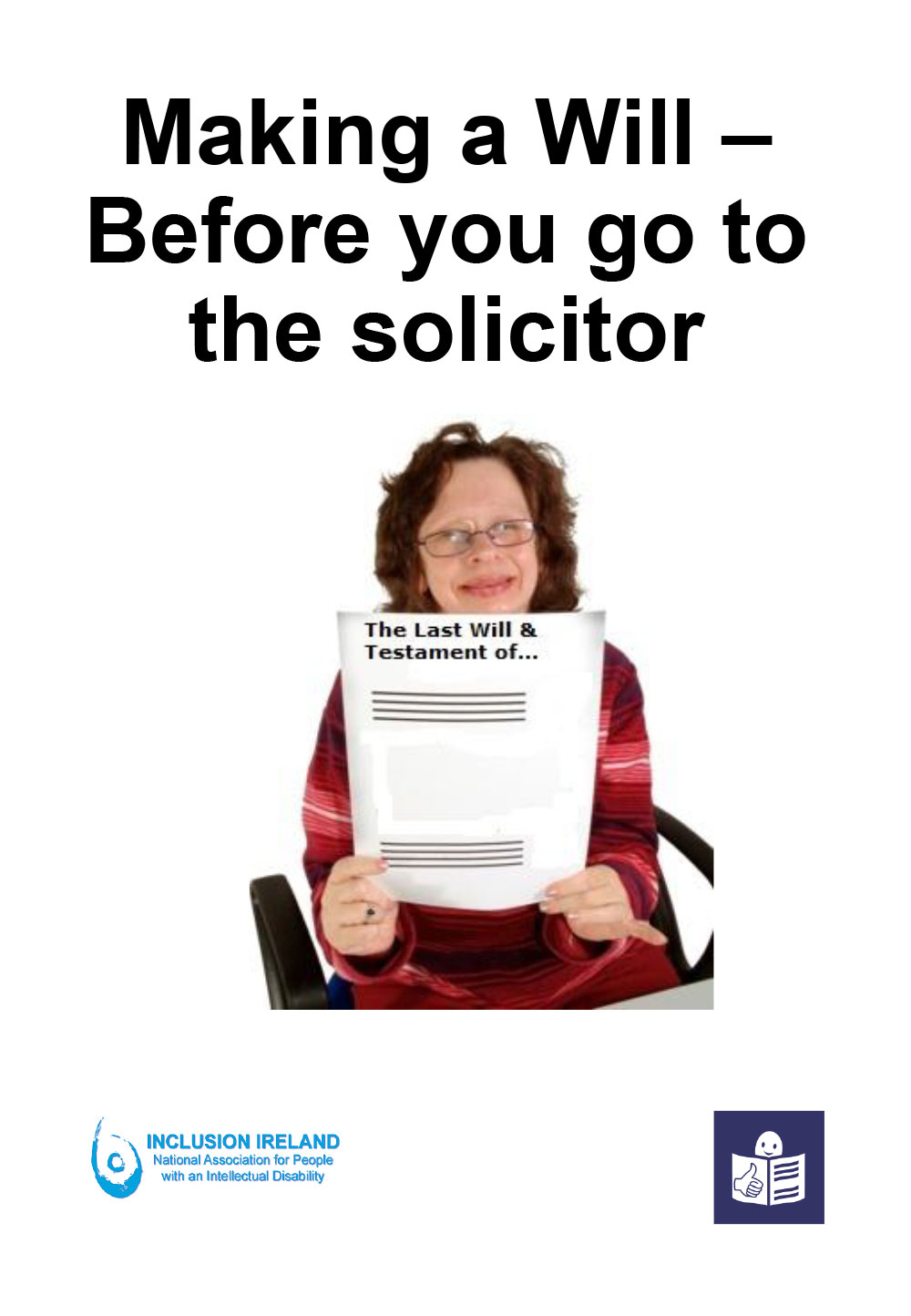Making a Will – Before you go to the Solicitor
