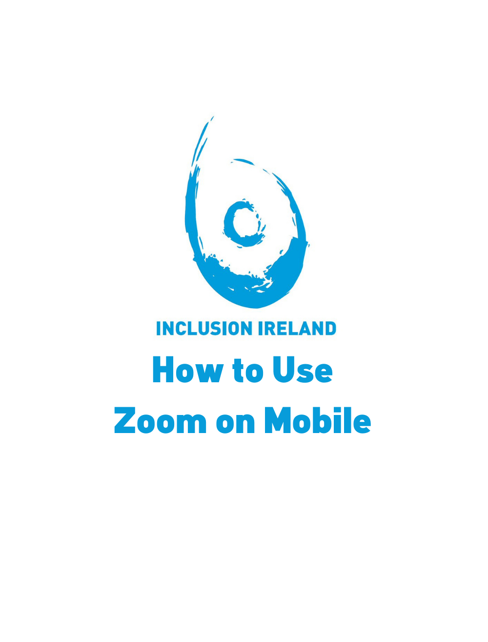 ETR – How to Use Zoom on Mobile