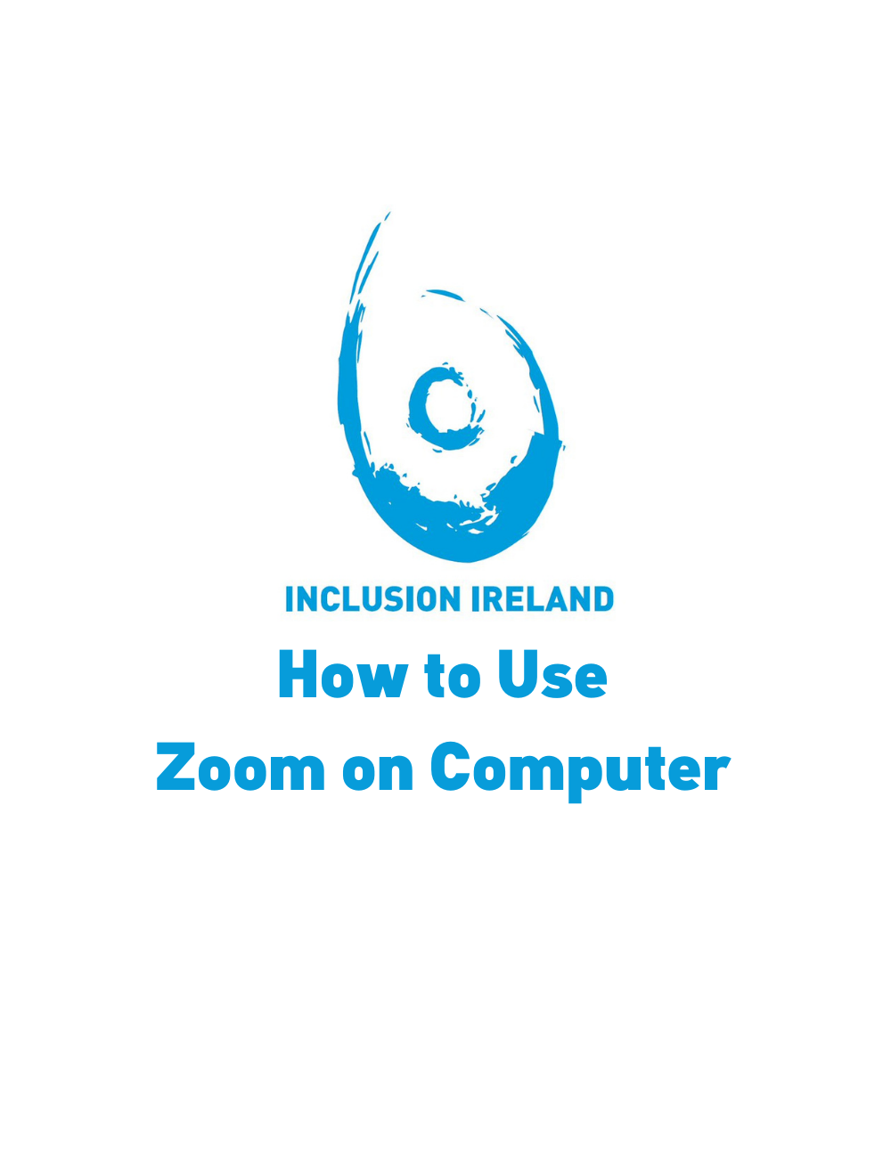 ETR – How to Use Zoom on Computer